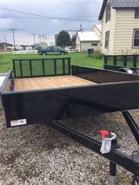2017 H&H 8X12 Solid Side Utility/Ramp