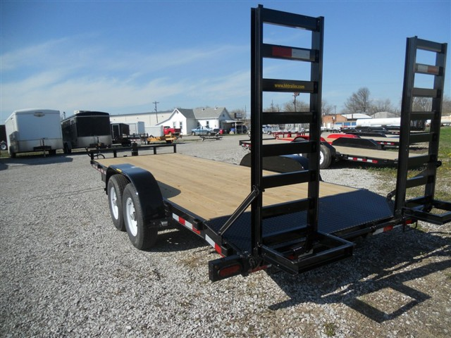 2019 H&H 8 1/2x18 HD FLATBED/STAND UP RAMPS