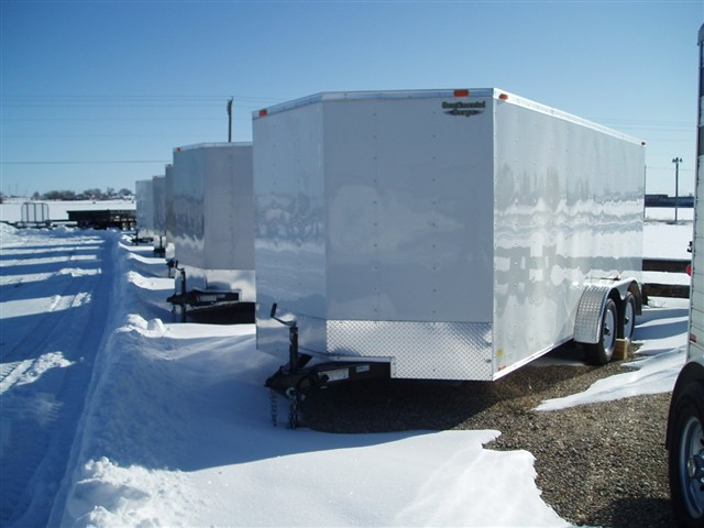 2011 Continental Cargo 16' enclosed cargo