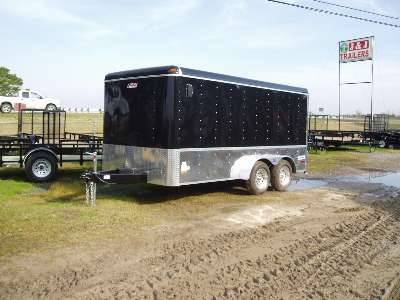2008 Pace American 7x16 jt rider
