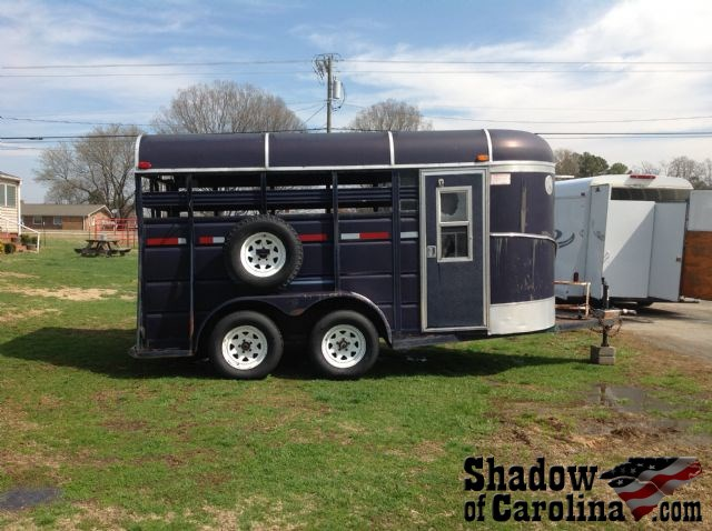 Horse Bumper Pull Trailer With Dressing Room