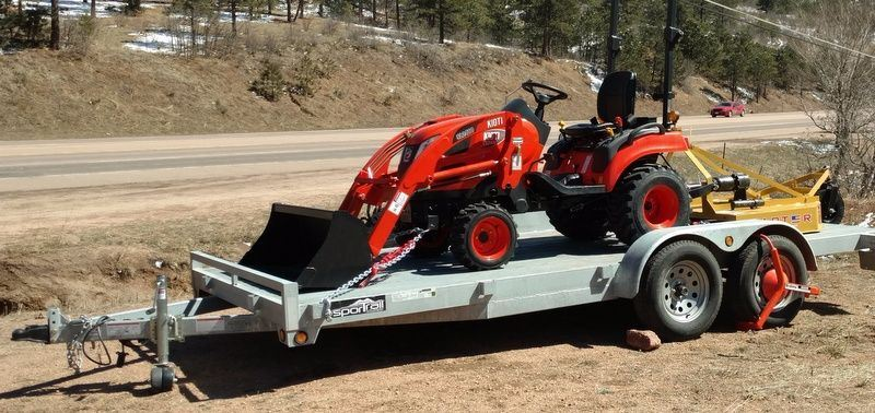 F Db Bbc F B C Dcd Full on Tractor And Trailer Package Deal