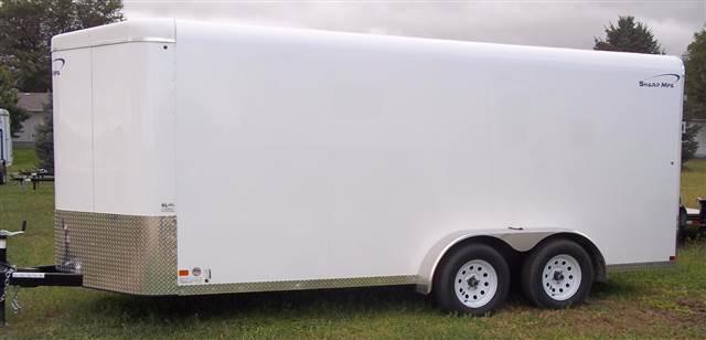 2015 Sharp 7' x 16' cargo bumper hitch
