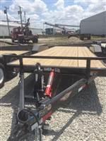 2019 H&H 8 1/2X20 Manual Tilt Flatbed