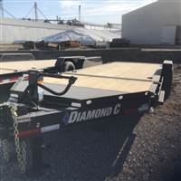 2019 Diamond C 8 1/2X16+4 GRAVITY TILT