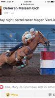 Jets Last Flit junior rodeo winner