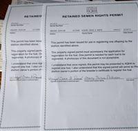 2 retained semen rights permits