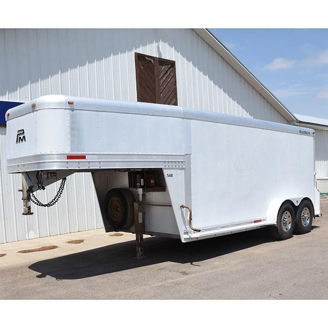 2007 Platinum Coach 16' cargo trailer with refrigerator unit