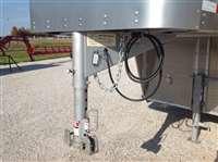 2018 Barrett 24' gn slatside aluminum livestock