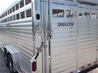 2018 Travalum 7.6 x 24 gn aluminum livestock