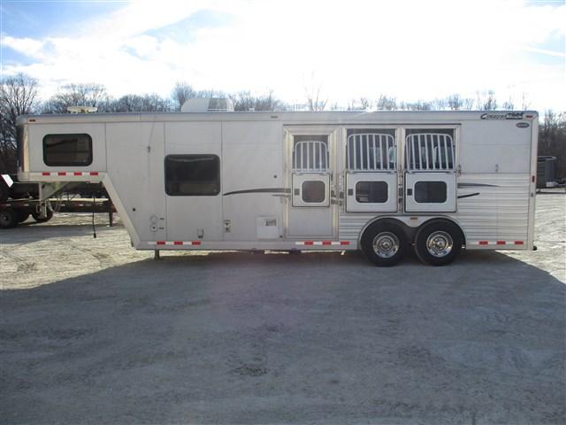 2009 Cimarron 3-horse/living quarters