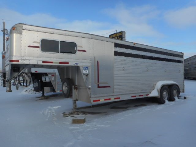 2000 Eby 4 horse stock combo