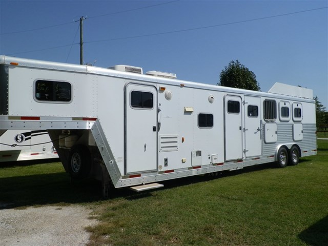 2002 EXISS 4 HORSE 8 WIDE 14 SHORT WALL 4 HORSE MID TACK HAY RACK – Exiss Living Quarters Wiring-diagram