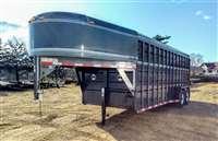 2015 CornPro 20' stock trailer
