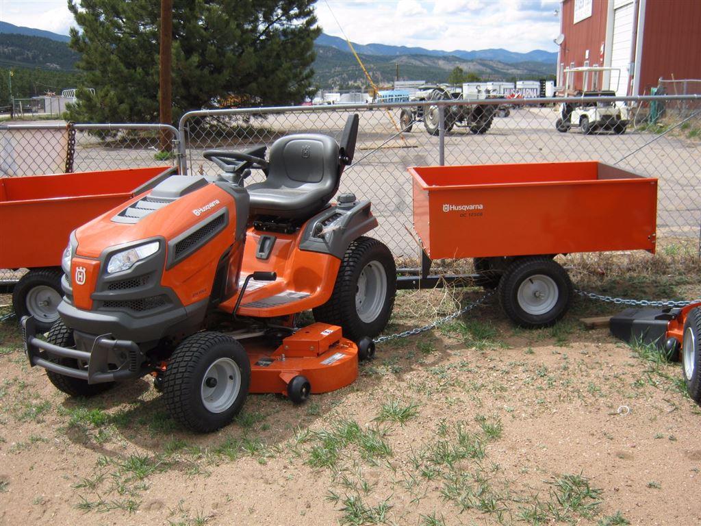 details - Husqvarna Garden Tractor