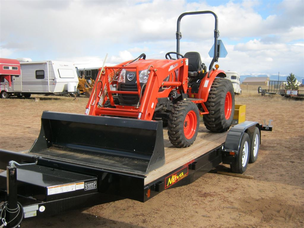 Package Sale 24hp Compact Tractor Ck2610hst Loader