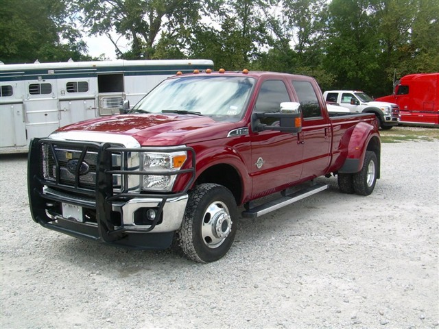 dually ford lariat 4x4 truck