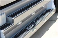 All-aluminum running boards